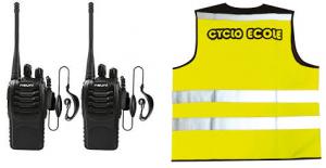 talkie walkie ligne de conduite meyzieu